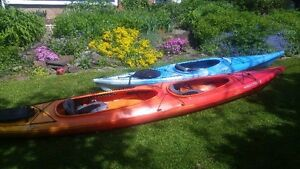 2 kayaks for sale, together or seperate