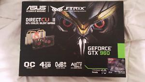 Nvidia Geforce GTX 960 Asus Strix Graphics Card