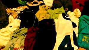 HUGE MENS BAG OF CLOTHES XL AND L