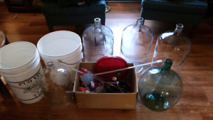 Wine making supplies $125