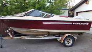 18ft Silverline w/150hp merc and extras TRADE
