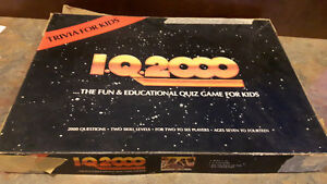 IQ2000 board game (1980's)