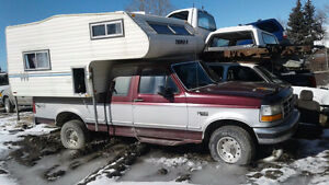 Mid-90s Truck and Camper for $1500 - Buy complete or for parts