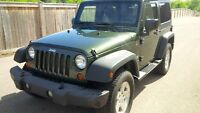 2008 Jeep Wrangler X | SOFT & HARD TOP| LOW KM| 6 SPEED MANUAL|