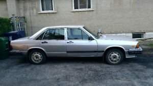 1982 Audi Turbo Diesel 4 door