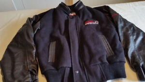 Leather Wool Jackets