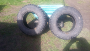 Pair of LT 245/75r 16 mud tires