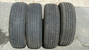 4 Motomaster All Season tires in very good shape