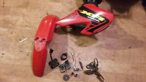 piece de honda crf/xr 100cc en bonne condition