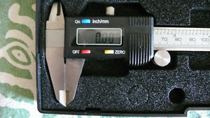 Digital Caliper (micrometer) Stainless Steel - Brand NEW