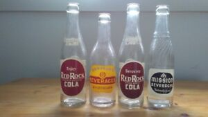 VINTAGE SODA POP BOTTLES $12 each 2 for $20