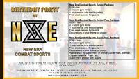 Children's Birthday Parties at New Era Combat Sports!