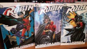 DC Comics TPB Graphic Novels - BATMAN Robin WONDER WOMAN Batgirl