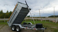 BLOWOUT 7 TON GALVINIEZED DUMP BUSHWACKER REG .9495.00 NOW 7999.