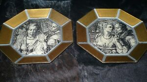 """VINTAGE 2 GORGEOUS VICTORIAN """"ATTRIBUT"""" WALL PLAQUES Kitchener / Waterloo Kitchener Area image 1"""