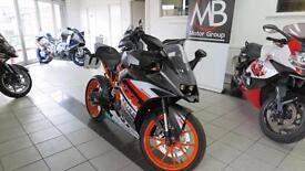 2015 KTM RC 125 RC125 Racing Colours ABS 125cc Nationwide Delivery Available
