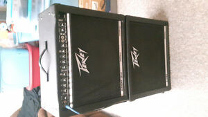 Peavey Bandit 112 amp and 112sx ext. RARE