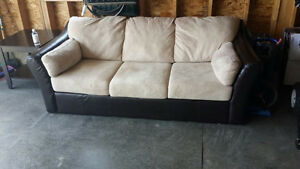 Beige Comfortable Sofa