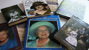 Royalty Books, Queen, Queen Mother -6 Books for $25