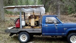 1957 onan generator mounted on ford ranger