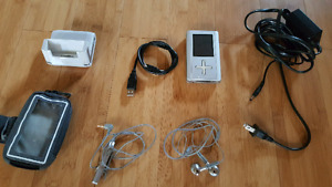 Toshiba gigabeat 40gb mp3 player running rockbox