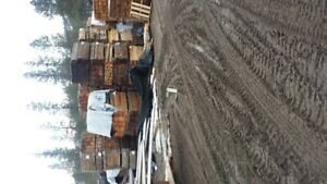 fencing/lumber/timbers