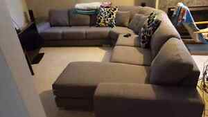 sectional couch barely used