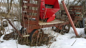 luggage railroad cart very old