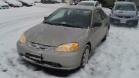 Honda Civic LX Coupe (2 door) Extremely low mileage