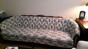 French Provinical Couch and Chair