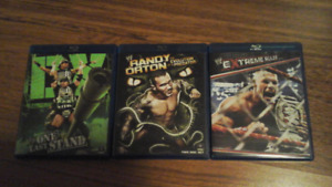 WWE Blurays