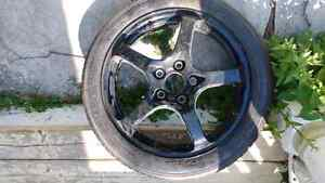 """Reduced spare tiire 18"""" in perfect condition. make an offer... Kingston Kingston Area image 2"""