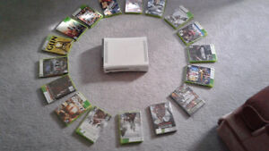 60 gb Xbox 360 with 17 games