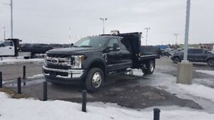 NEW 2019 Ford F-550 XLT 4X4 CREW CAB WITH STEEL DUMP
