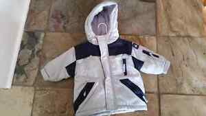 Alpinetek  20lbs baby winter jacket 9-12 months