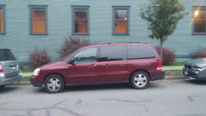 2007 Ford freestar quick sale