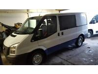 2012 62 Ford Transit Crew Van 2.2TDCi ( 100PS )6 speed ( EU5 ) 280S( Low Roof)
