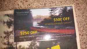 $500 Certificate for a Canoe!