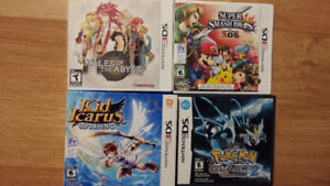 3DS Games and Pokemon Black 2