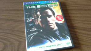 THE 6TH DAY VERY RARE DVD EDITION ARNOLD SCHWARZENEGGER MOVIE