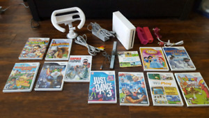 Complete Nintendo Wii Package with 12 Games