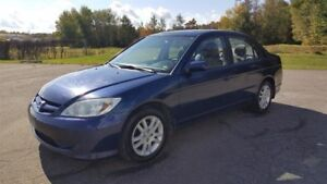 Honda Civic Sdn 4dr LX-G Manual 2005