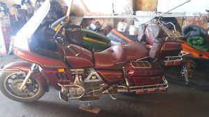 Goldwing sale or trade. Boat or 5x10 trailor