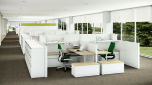 Cubicles - Partitions - Desks .... many options in one place