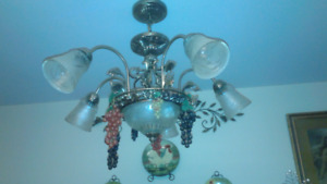 Lovely Victorian ceiling fixture