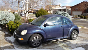 Blue Volkswagen Beetle for Sale at a Reasonable Price