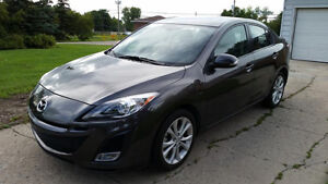 Mint Condition - 2010 Mazda3 GT Sport (Only 10,700KMS!!)