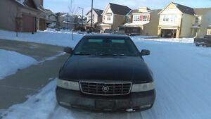 2001 Cadillac STS Black Other