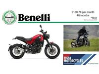 2018 BENELLI LEONCINO TRAIL 500..133.10 OVER 48M WITH A 199 DEP.9.9% APR