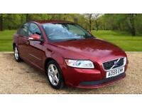 Volvo S40 1.6D 2009MY DRIVe SE MAPLE RED METALLIC SALOON